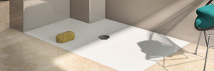 Made to measure shower floor system