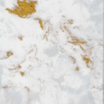 Beautiful hand crafted marble surfaces wit luxurious metallic elements.