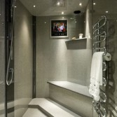 Versital Panels, shower tray and accessories.