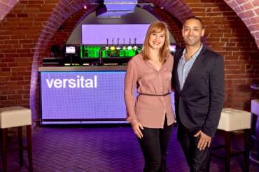 Bar tops from Versital - Grant Lees and Gemma Stockberger