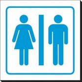 Washroom symbol