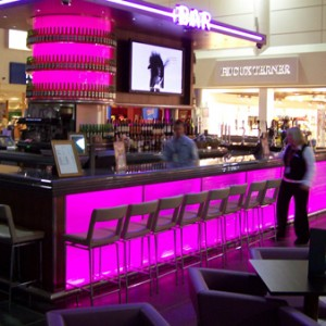 Thumbnail - Bar top made to order in black granite finish 'Nore' at John Lennon Airport