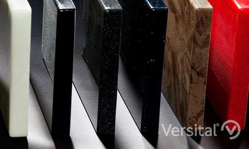 Versital finish options samples close up