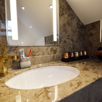 Marble Vanity Top and Splashback Panels