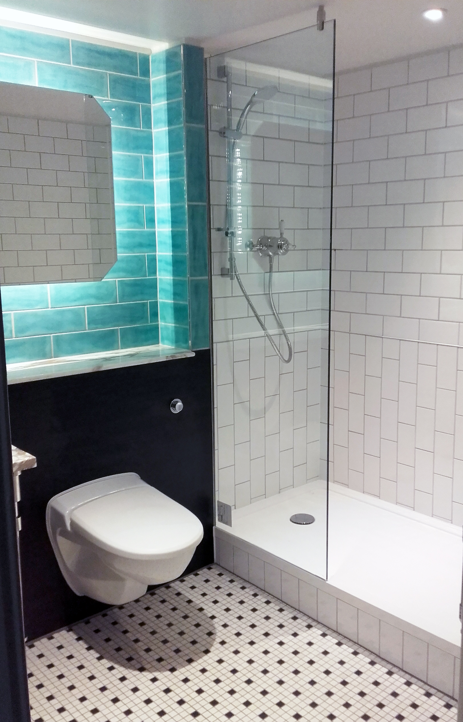 The Andaz Hotel | Bespoke Shower Tray Bathroom update