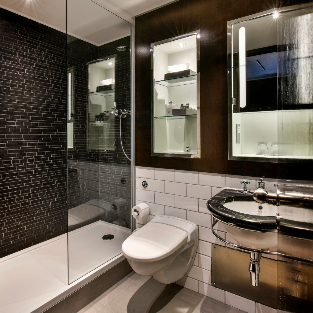 Success at the andaz hotel second stage of renovations for Bathrooms liverpool