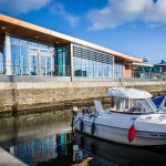 Royal Quays Marina designed and built by Bright Blue Studio's.