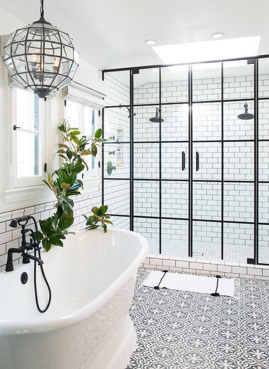 Luxury shower area - create this look using a bespoke shower tray