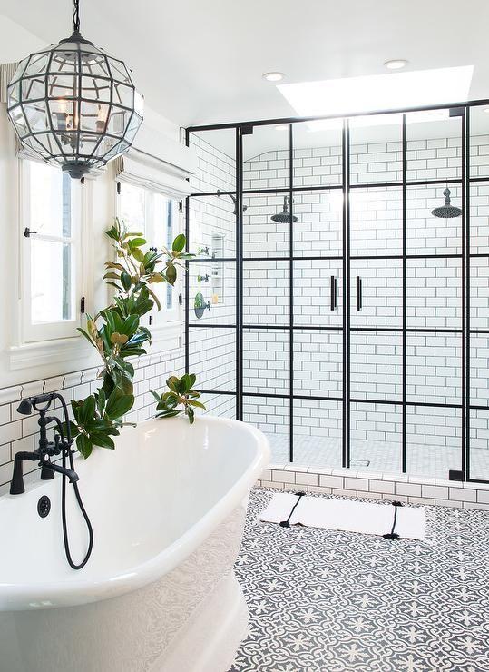 Luxury shower area - create this look using a bespoke shower tray Credit to Sorankita.com