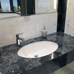 Bathroom marble vanity top in dark gloucester