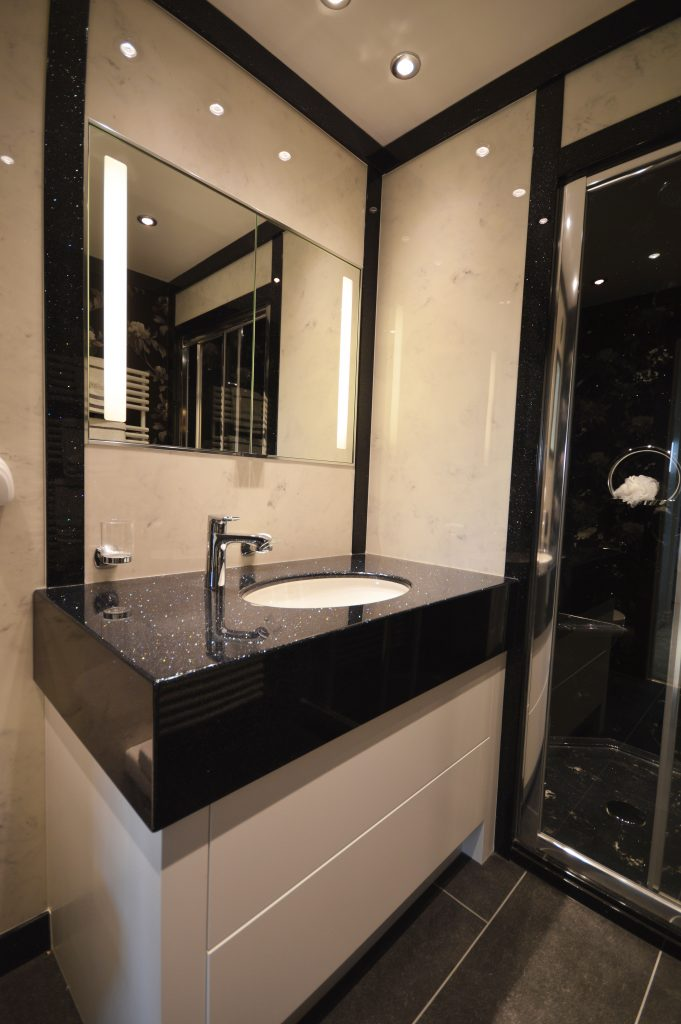 bathroom vanities in glouchester with an undermounted sink