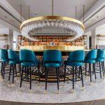 VIVI Bar design with gold elements