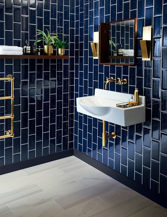 blue tiles inspiration from toppstiles.co.uk