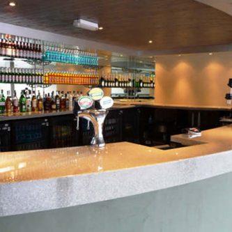 Bar Top in Mercury Granite Finish
