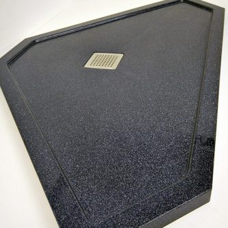 Bespoke Tray in Noire Reflect Sparkle Finish from the Reflect Range