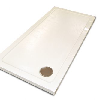 Shower Tray in Ice White Reflect Finish