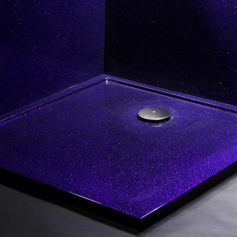 Shower Tray in Shiraz Reflect Finish