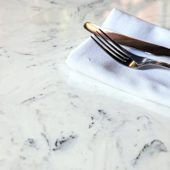 Table Top in Arabesque Marble Finish