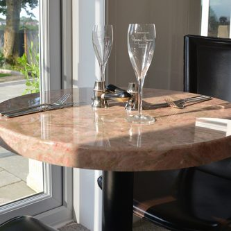 Table Top in Estromoz Marble Finish