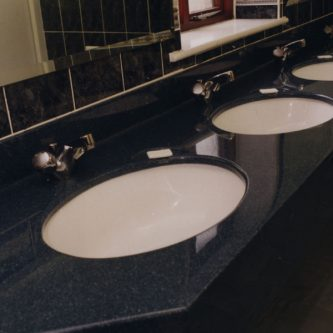 Vanity Top with Under Mounted Basins