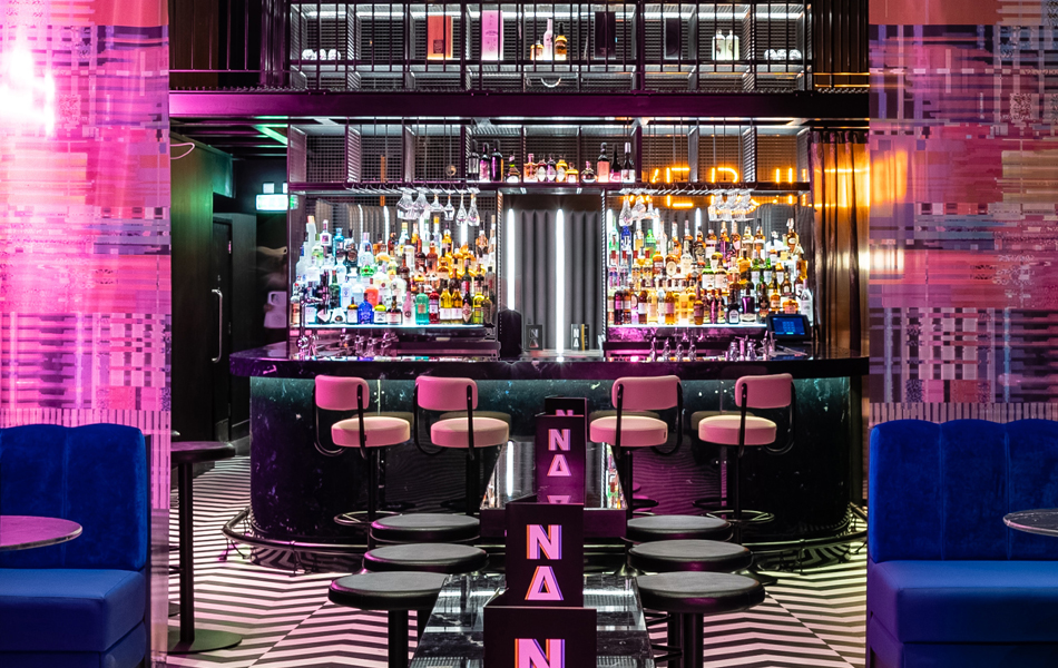 just bar in nocturnal animals bar - Shortlisted for Restaurant and Bar Design Award