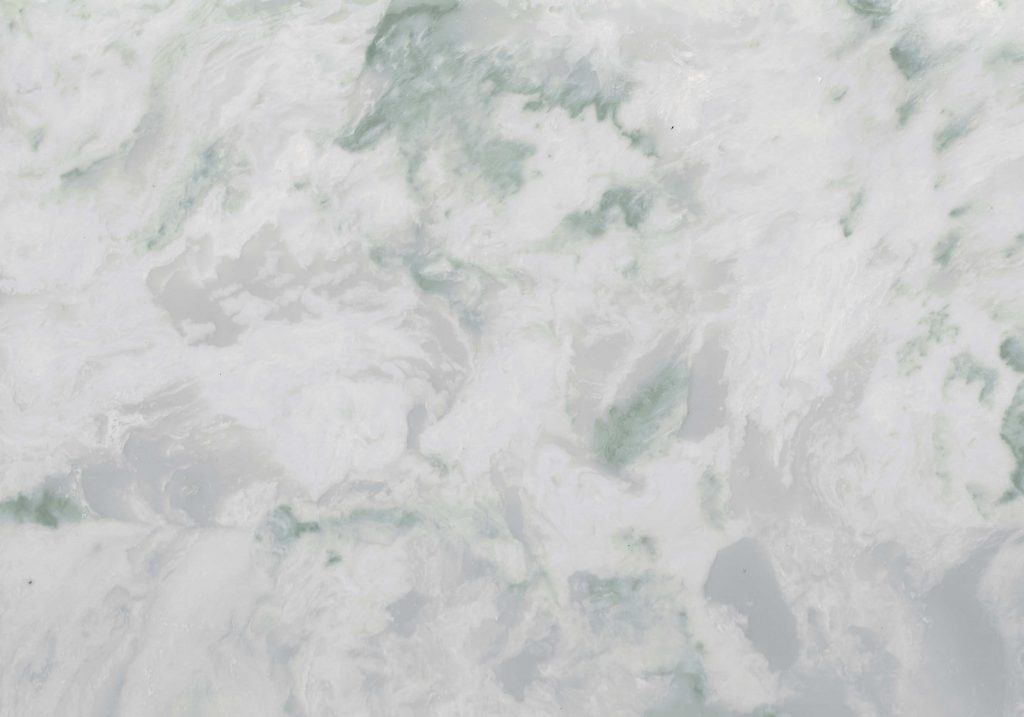 Exclusive new Green marble Morning Dew by Versital to complement Tranquil Dawn from Dulux